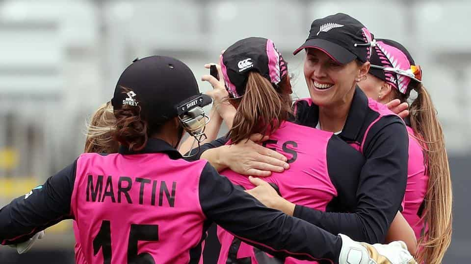 New Zealand women beat India by four wickets in Auckland