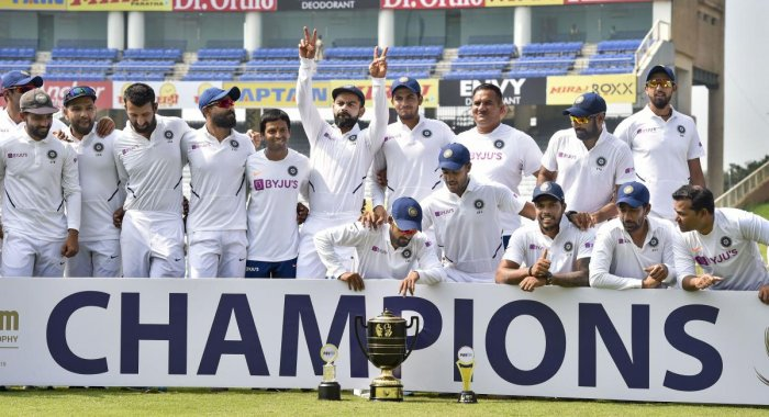 India strengthen position at top of ICC WTC points table