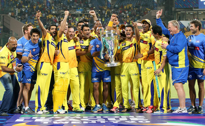 Chennai Super Kings lift their 3rd IPL title