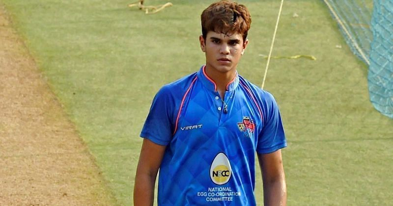 Arjun Tendulkar makes Mumbai senior team debut