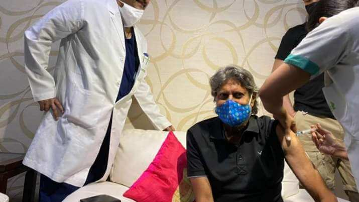 Former cricket legend Kapil Dev gets first jab of COVID-19 vaccine