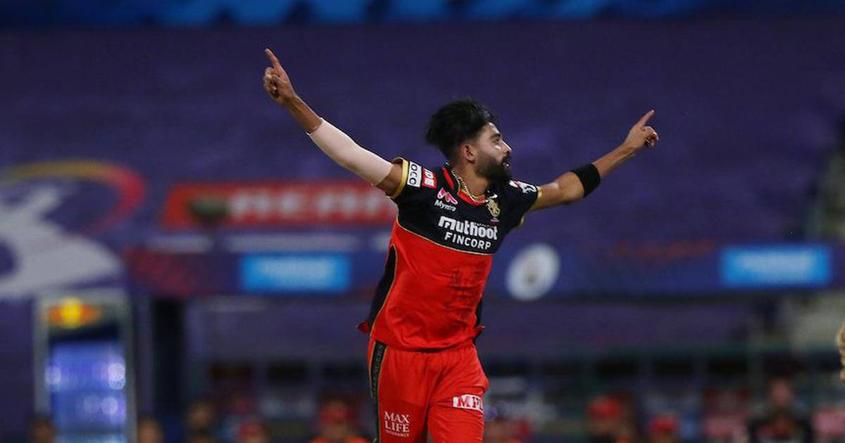 RCB pacer Mohammed Siraj becomes first bowler to bowl 2 maidens in same IPL match