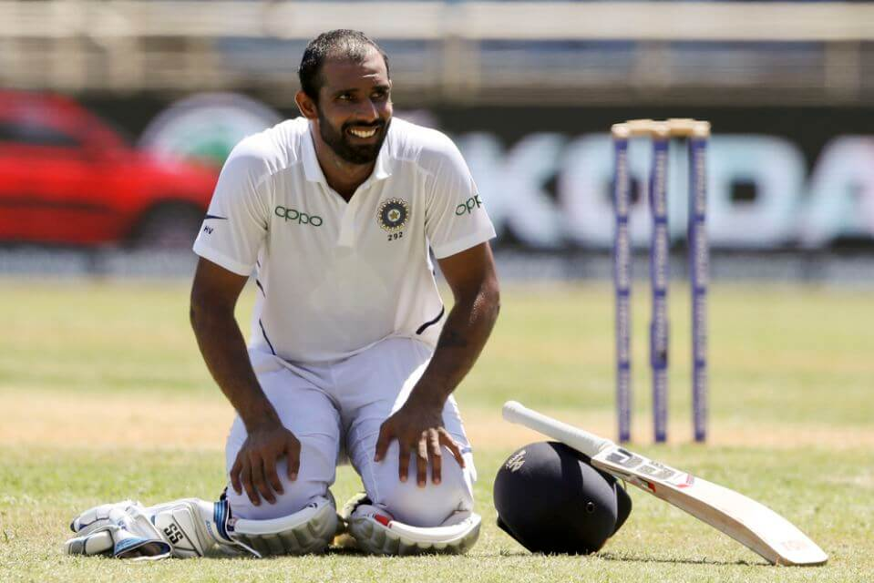 Hanuma Vihari suffers hamstring injury during the SCG Test match vs Australia, heads back to India