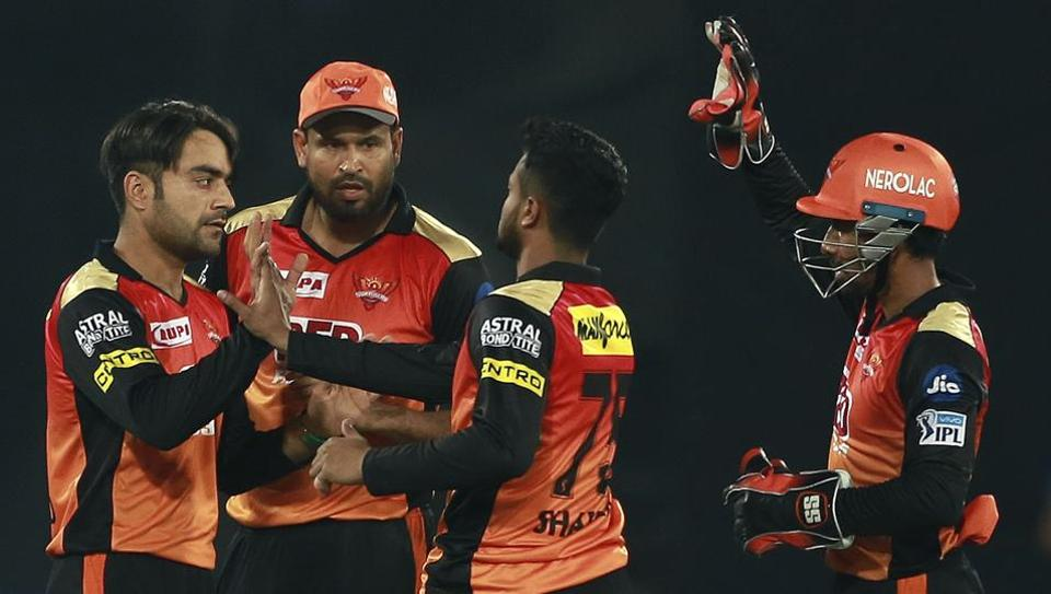 Sunrisers Hyderabad beat Kings XI Punjab by 13 runs