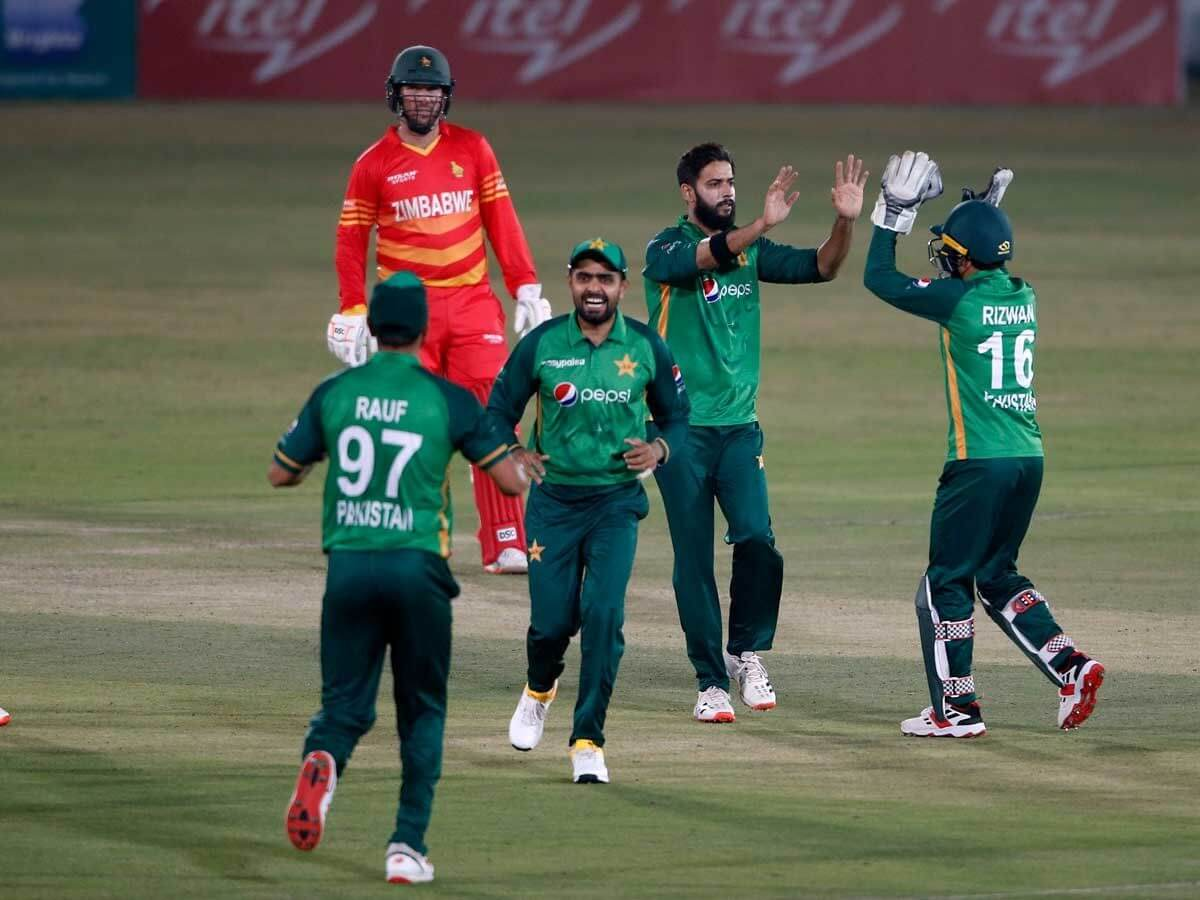 1st T20I: Mohammad Rizwan, Usman Qadir shine as Pakistan crush Zimbabwe by 11 runs