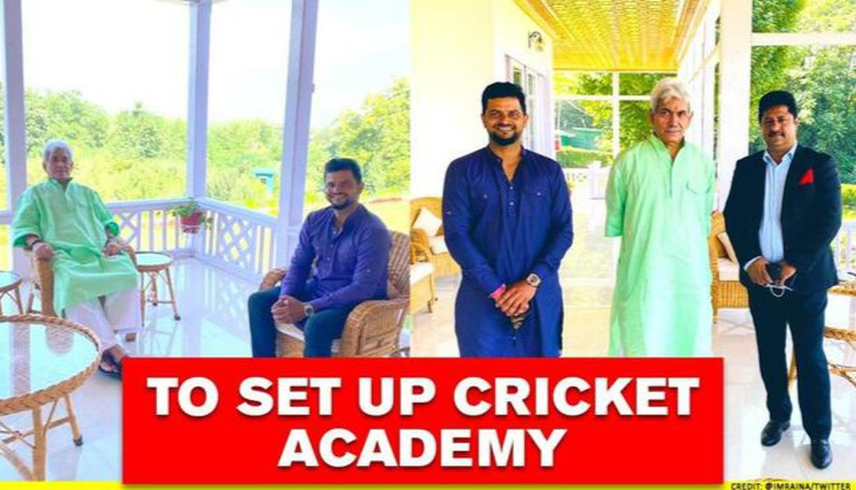 Suresh Raina to set up cricket academy in J-K