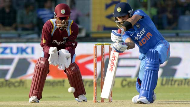 India win toss, elect to bat against West Indies at Visakhapatnam