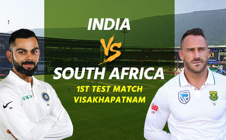 indiatotakeonsouthafricainfirsttestmatchatvisakhapatnamtoday