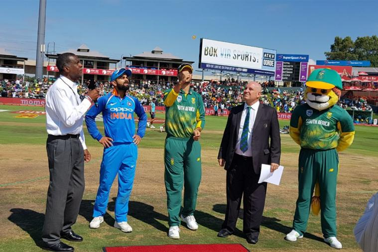 SA vs Ind, 2nd ODI: Kohli wins toss,elects  to bowl first