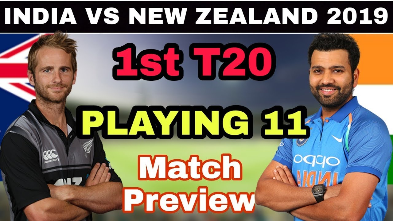 First T20 between India and New Zealand to be played today in Wellington