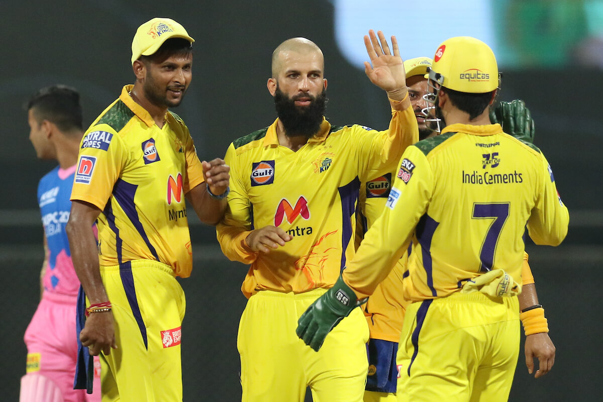 IPL 2021: Chennai Super Kings register 2nd win against Rajasthan Royals by 45 runs