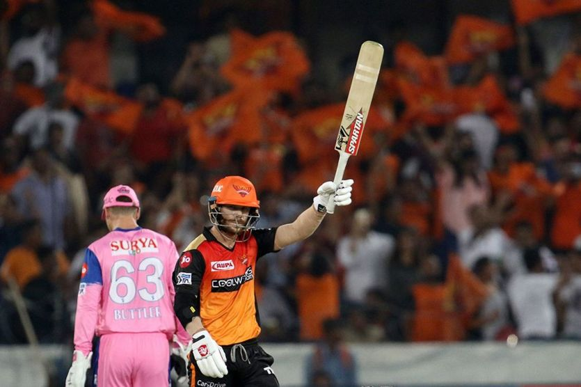 Sunrisers Hyderabad beat Rajasthan Royals by 5 wickets in IPL