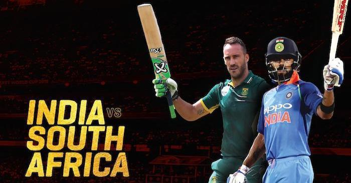 T20 series between India, South Africa to begin tomorrow