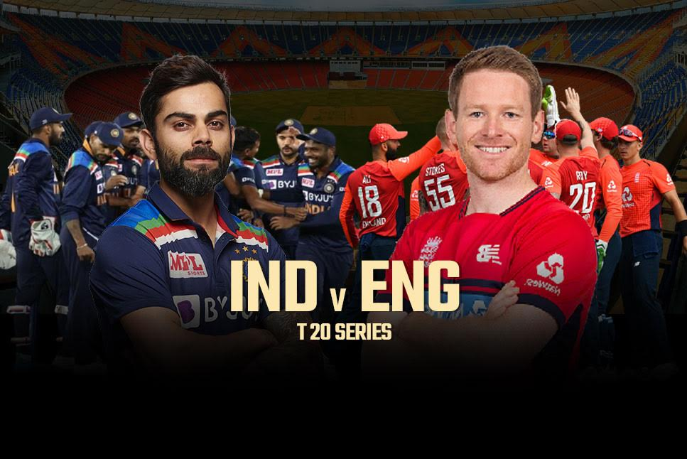 thirdt20matchbetweenindiaenglandtobeplayedinahmedabadtoday