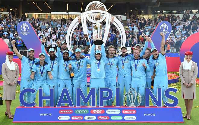 England win cricket World Cup in Super Over after incredible tie