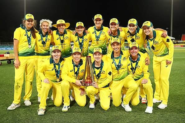 Australian women sweep three match ODI series against India 3-0