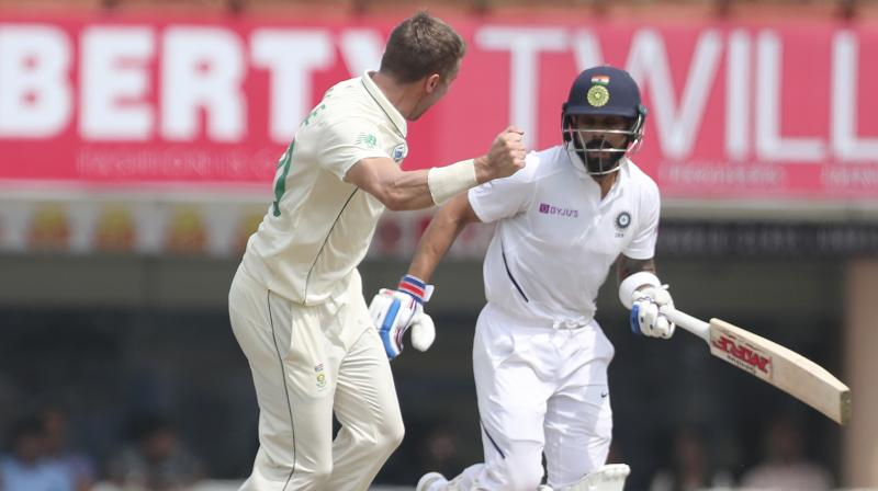 Ranchi Test: India lose three batsmen in first session on opening day