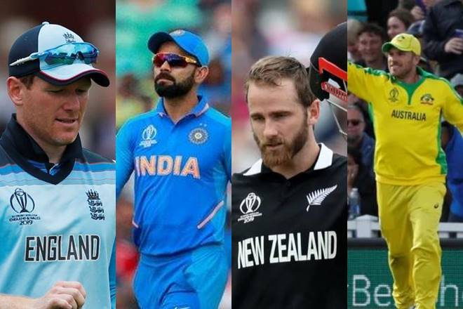 ICC World Cup: India against New Zealand in first semifinal, hosts England face Australia in other