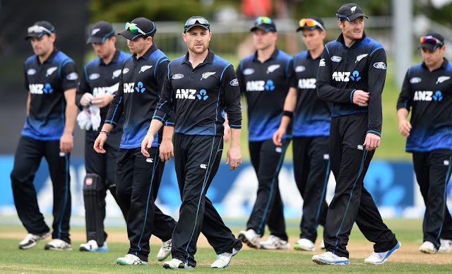 New Zealand team announced for ICC Champions Trophy