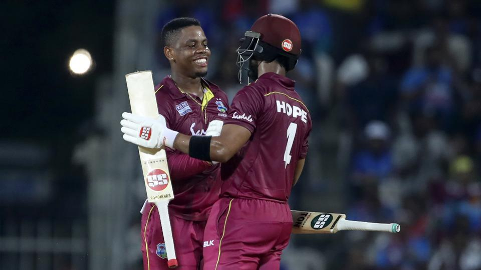 West Indies beat India by 8 wickets in 1st ODI match at Chennai