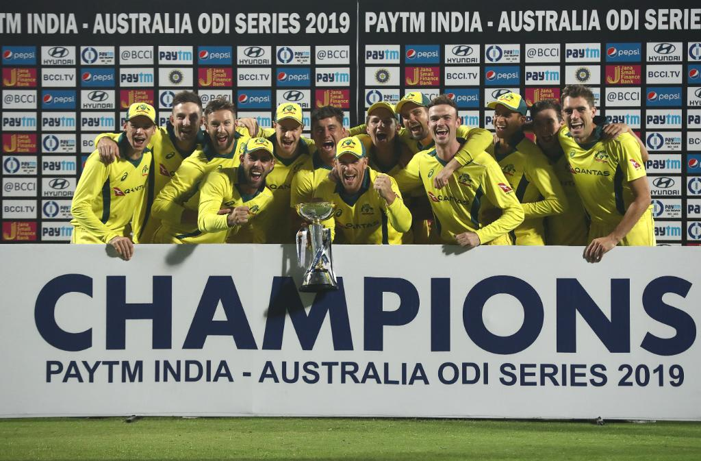 Australia defeat India by 35 runs, clinch series 3-2