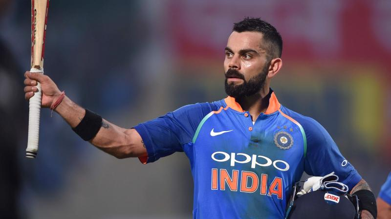 Virat Kohli beats Tendulkar to be fastest batsman to reach 12,000 ODI runs