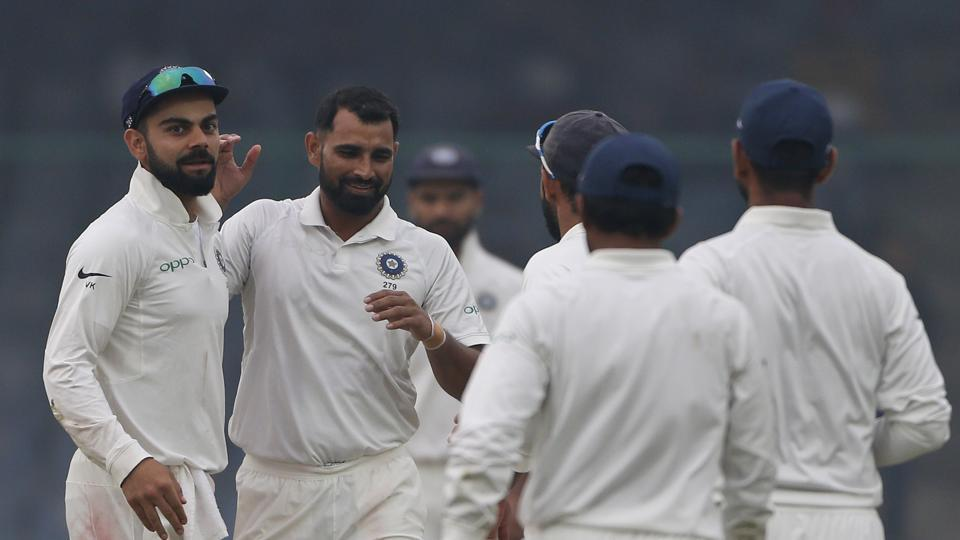 India declare second innings on 246/5