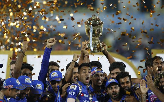 Mumbai Indians clinch record third IPL title after one run heist