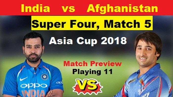 Asia cup: India to take on Afghanistan in Super Four encounter today