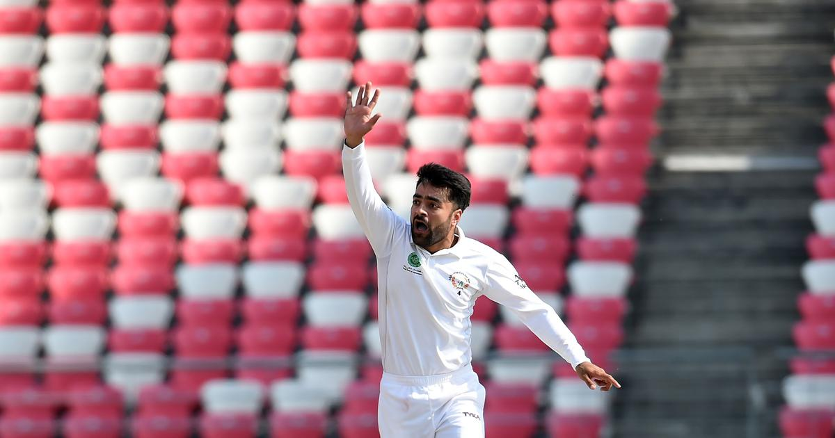 Rashid Khan puts Afghans in control