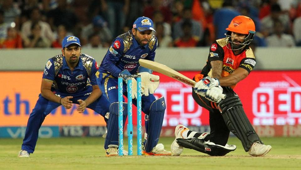 Sunrisers beat Mumbai Indians by seven wickets in IPL