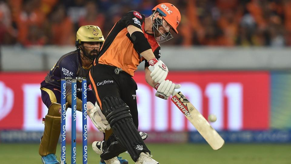 Sunrisers Hyderabad beat Kolkata Knight Riders by 9 wickets