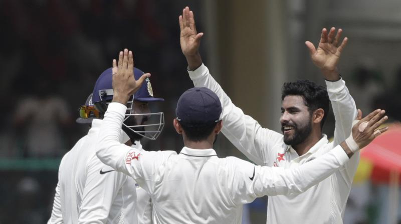Australia made 109 for three at lunch on day one against India