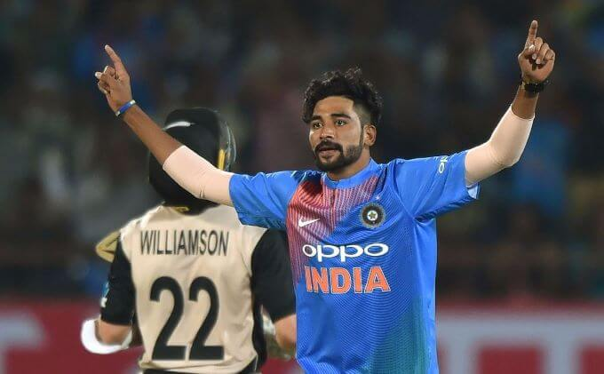 Virat Kohli encouraged me to stay positive, says Mohammed Siraj on father