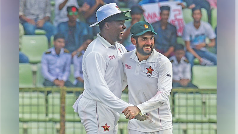 Zimbabwe thrash Bangladesh by 151-runs in the 1st Test match