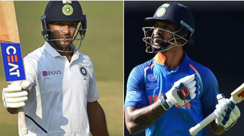 Mayank Agarwal replaces injured Shikhar Dhawan on ODI squad