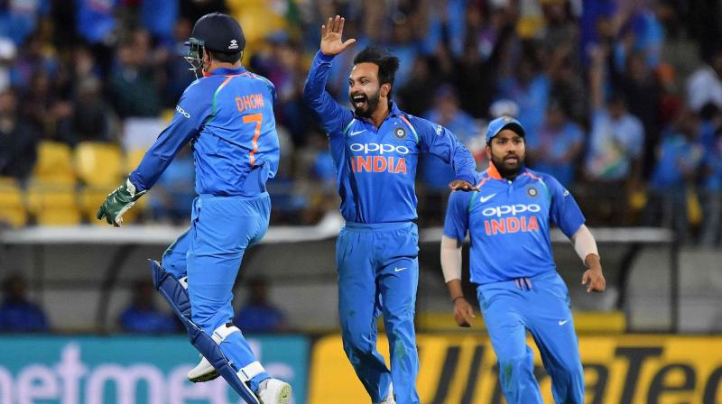 India win toss and opt to field against New Zealand in 1st T20 International