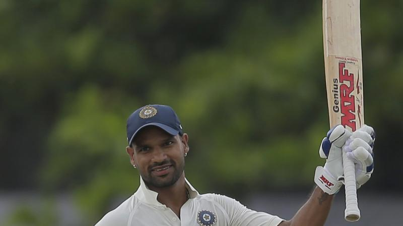 India reach 115 for one at lunch against Sri Lanka