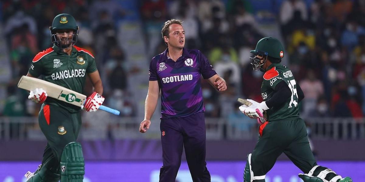 Scotland beat Bangladesh by six runs in T20 World Cup