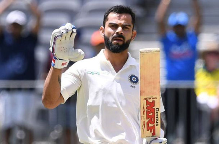 Kohli named leading cricketer of the Year for 3rd time by Wisden