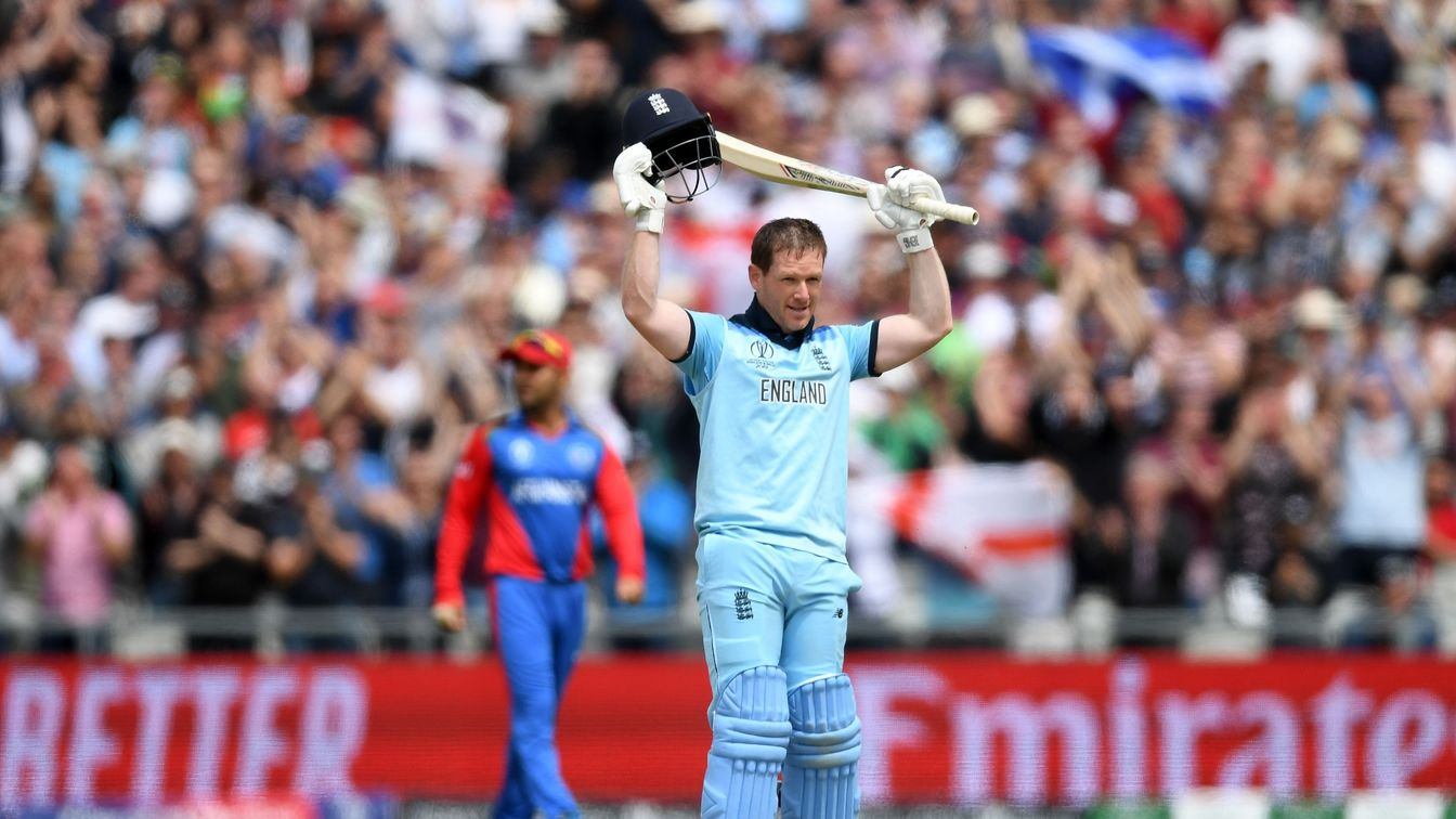 England defeat Afghanistan by 150 runs in ICC Cricket World Cup