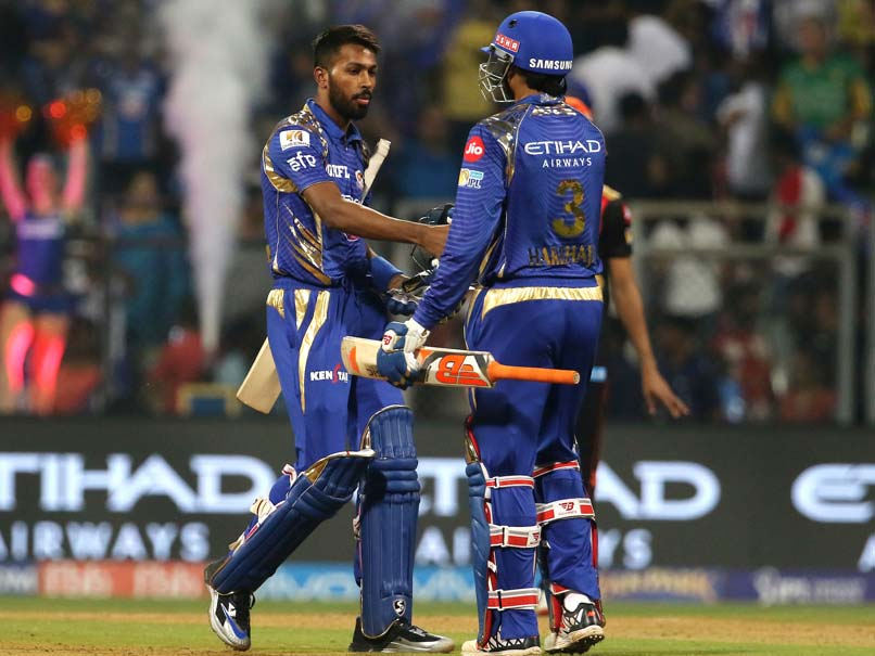 Mumbai Indians defeats Sunrisers Hyderabad by 4 wickets in IPL 2017