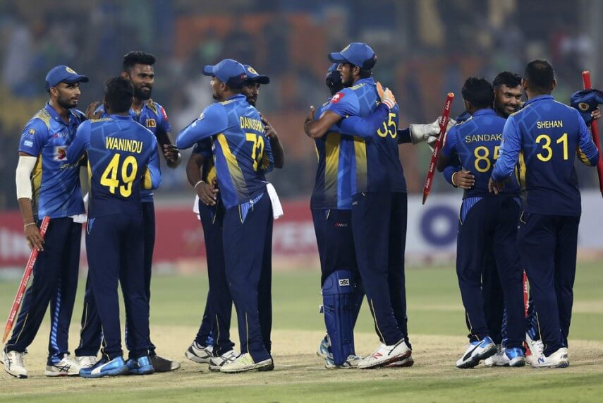 Sri Lankan cricketers all set to restart training from Monday