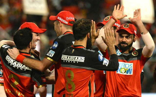Royal Challengers Bangalore beat Sunrisers Hyderabad by 14 runs