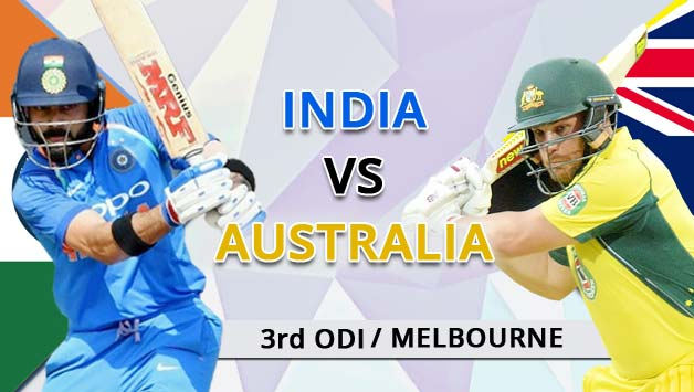 India win toss, opt to bowl against Australia in 3rd ODI at Melbourne; Australia were 110/4