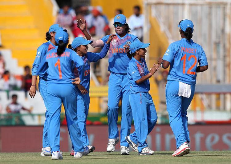 ICC Womens World Cup : India vs Pakistan : Ekta