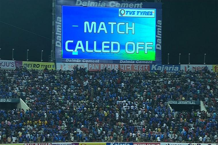 Final T20 between Australia, India match called off due to wet outfield