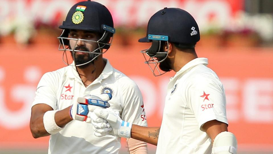 England bat against India in first Test