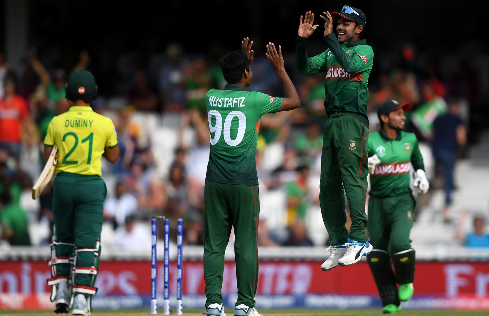 Bangladesh beat South Africa by 21 runs in ICC World Cup