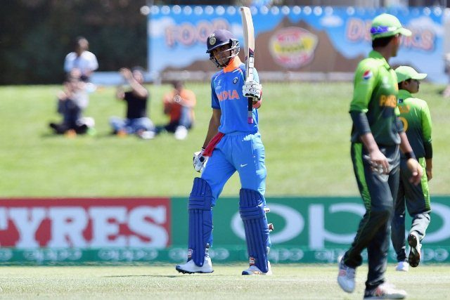 India beat Pakistan by 203 runs in the ICC U-19 World Cup